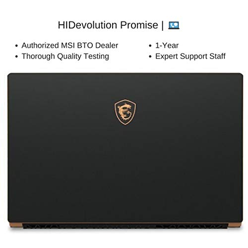Compare HIDevolution MSI GS75 Stealth 10SE (MS-GS75620-HID10) vs other laptops