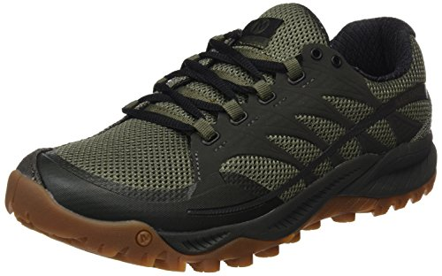 Merrell All Out Charge, Chaussures de Trail Homme, Vert (Dusty Olive), 42 EU