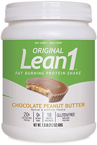 Nutrition 53 Lean 1 10-Serving Dietary Supplement, Chocolate Peanut Butter, 1.32 Pounds