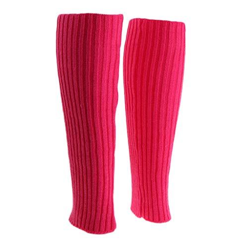 P Prettyia - Scaldamuscoli da donna per gambe e gambe Colore: rosa. M