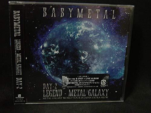 LIVE ALBUM(2日目)LEGEND - METAL GALAXY [DAY-2] (METAL GALAXY WORLD TOUR IN JAPAN EXTRA SHOW)