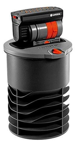 Arroseur Oscillant Escamotable Os 140 de Gardena : Système d'Arrosage pour Surfaces Carrées et Rectangulaires jusqu'à 140 M2, Portée jusqu'à 15 M, Peut Être Installé au Niveau du Sol (8220-29)