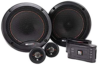 MB Quart RS1-216 Reference 2-Way Component Speaker System (Black, Pair) – 6.5 Inch Component Speaker System, 220 Watt, Car... photo