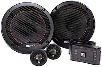 $149 » MB Quart RS1-216 Reference 2-Way Component Speaker System (Black, Pair) – 6.5 Inch Component Speaker System, 220 Watt, Car...