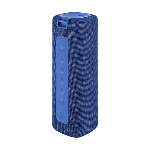 Xiaomi Mi Altavoz Bluetooth portátil Altavoz Bluetooth inalámbrico, 16 W, IPX7 Impermeable para Uso en Exteriores, TWS, 13 Horas de reproducción, Micrófono Incorporado, A Prueba de Polvo (Azul)
