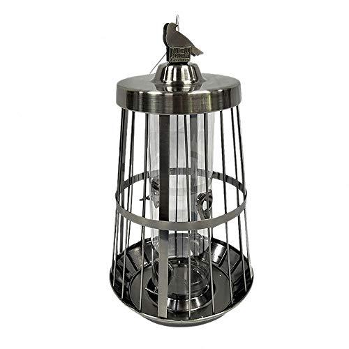 YQY Vogelfutterspender, Vogelfutterstation Heavy Duty Metallkäfig, Samen Nuss Feeder, Hängen für Garten-Yard-Dekoration