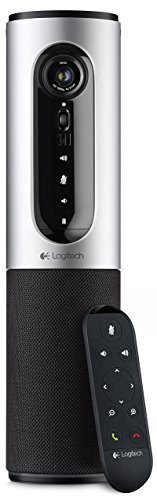 Logitech ConferenceCam Connect All-in-One Video Collaboration Solution for Small Groups - Full HD 1080p Video, USB and Bluetooth Speakerphone, Plug-and-Play (Renewed)