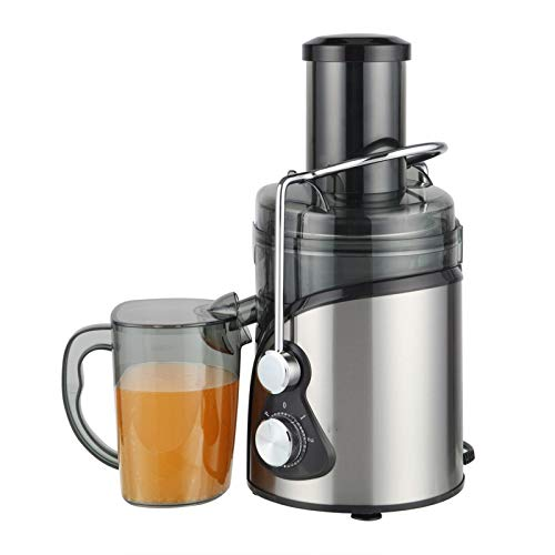 Juice Extractor, Juicer Machine with 3.3'' Wide Mouth, 3 Speed Centrifugal Juicer for Fruits and Vegs, with Non-Slip Feet, BPA-Free
