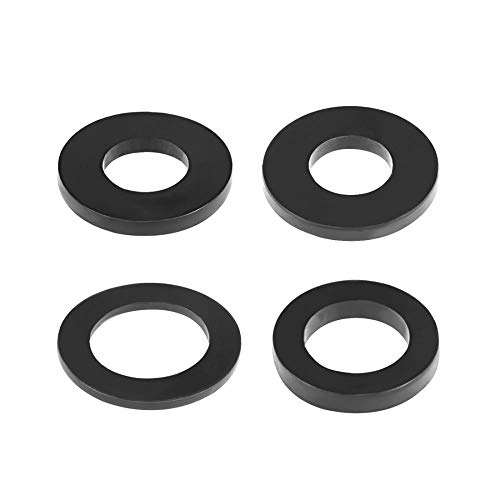 Yener Rubberen platte ringen Binnendiameter 7-45 mm OD 1,2-4,5 mm Dikke pakkingen naar de klep van de klep Slangmoer Sanitairreparatie, 20 mm x 30 mm x 2,3 mm