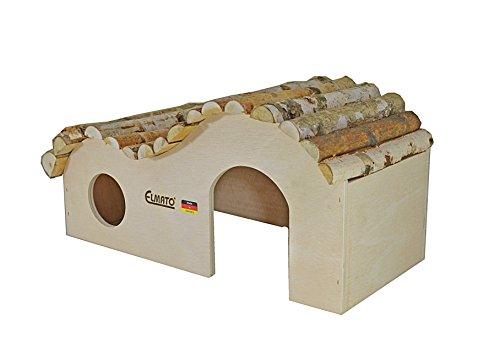 Elmato 10391 Naturwellenhaus per cavia - 45 x 21 x 22 cm