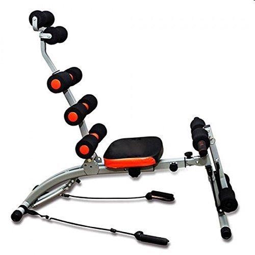 Six Pacco Care - Panca da allenamento bench per addome e schiena