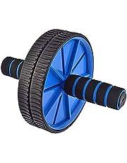 Good Times Ab Wheel, Ab Wheel Roller met 18 cm wielen, Ab Wheel Roller met kniesteun, buiktrainer met kniemat voor fitness, buikroller, buikspiertraining, spieropbouw, spiertrainer