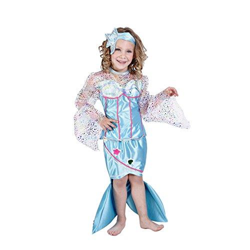 Disfraz de sirenita para niña - 3-5 años: Amazon.es: Juguetes y juegos
