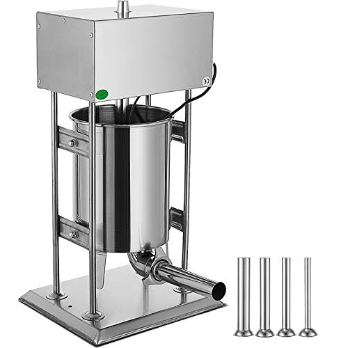 Happybuy Electric Sausage Stuffer 12L Capacity, Vertical...