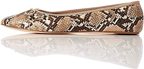 find. Ballet Pump Bailarinas, Marrón Snake, 40 EU