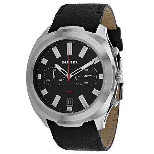 Diesel Heren chronograaf kwarts horloge met lederen armband DZ4499