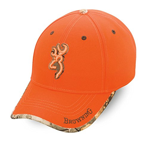 Browning Erwachsene Sure Shot Kappe, orange, One Size
