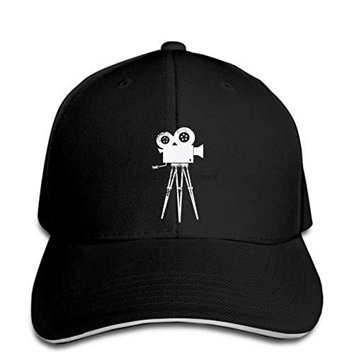 N/A Basebollkeps rolig män tryck hatt kvinnor udda återgång retro kamera fotograf filmregissör filmregissör tryck hatt justerbar ledig hiphop rolig utomhussport lastbil toppad keps