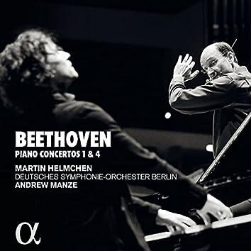 Beethoven: Pianos concertos 1 & 4