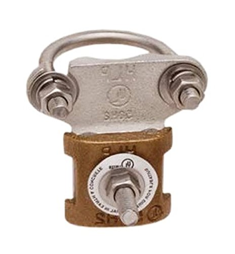 ROHN CPC1/1.25 Ground Clamp for Grounding ROHN Tower Base Section 25G 45G. Buy it now for 41.00