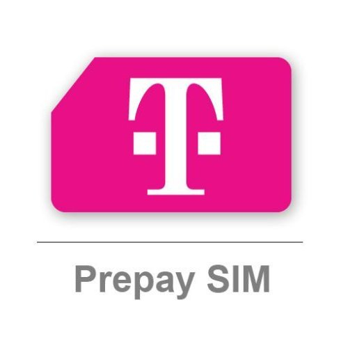 T-Mobile UK Pay as You Go SIM card - Includes £10 Airtime