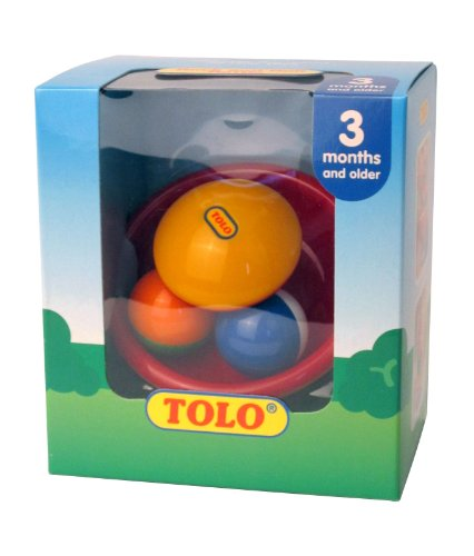 Tolo Jouet de Premier Age - Hochet Rock And Roll - Rock And Roll Rattle
