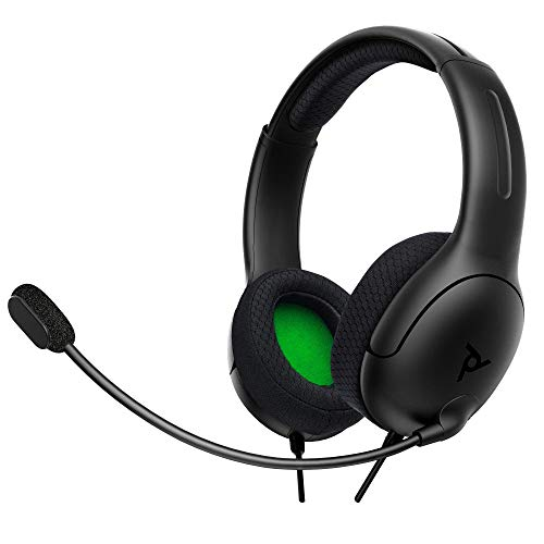PDP -  Auricular Stereo Gaming LVL40 Con Cable,  Gris (Xbox One)