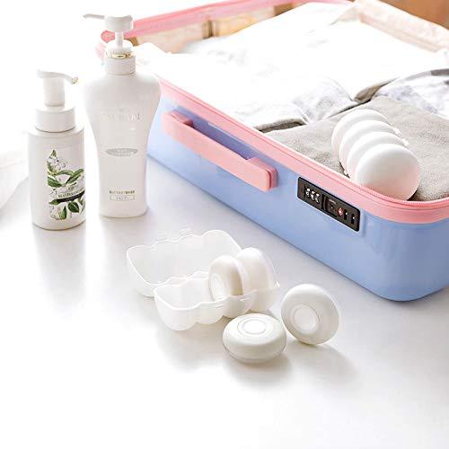 ILS – Outdoor Travel portátil botellas de silicona champú cosmético ducha gel kit de exprimidor botella vacía