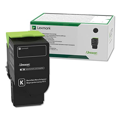 Lexmark 78C10K0 Return Program Cartridge Toner, Standard, Black