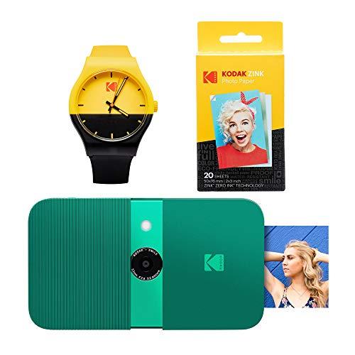 KODAK Smile - Reloj de cámara Digital con impresión instantánea (Verde)