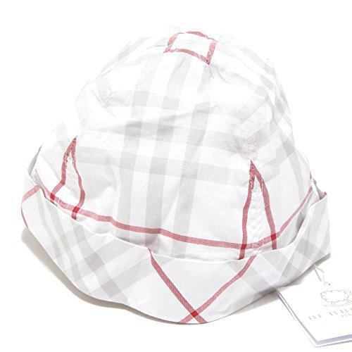 BURBERRY 6056G cappello bimbo bimba BABY check cotone accessori hat unisex [46]
