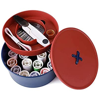 Basic Sewing Kit Box with Accessories for Trave...