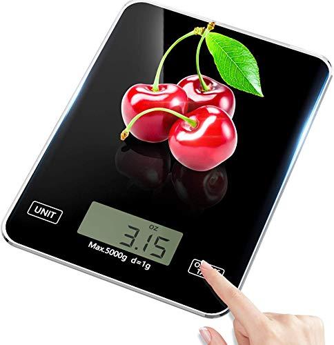 LanFun - Báscula digital de cocina, peso de hasta 5 kg (precisión...