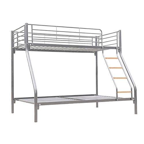 Litera triple de la marca Dirty Pro Tools TM con una cama individual y una doble, para que duerman 3 niños
