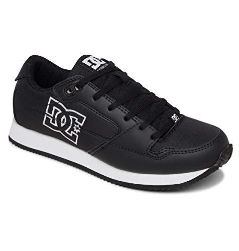 DC Shoes Damskie buty sportowe Alias, czarny biały - 42 EU