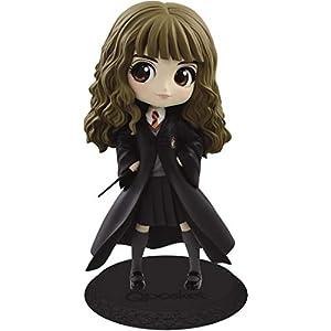 Figura de Colección de Hermione Granger QPOSKET II Pelo Oscuro 14cm Banpresto Harry Potter Warner Bros Versión Normal A 9