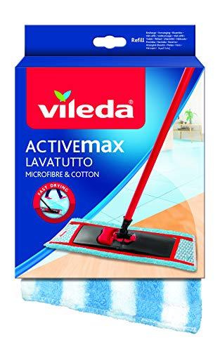 Vileda Ricambio Lavatutto Ricarica Fibrattiva Attrezzi Pulizie, Multicolore, Unica