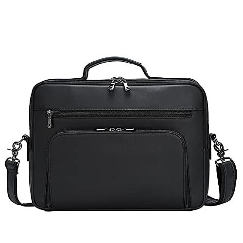 Uomo Borse Cartella Portadocumenti per Laptop, Borsa a tracolla del computer della borsa del computer del computer portatile della borsa del computer portatile della borsa del computer portatile della