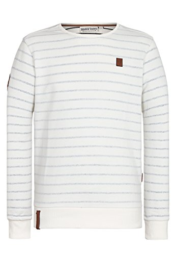 Naketano Herren Sweater Muschi Maritim VI Sweater