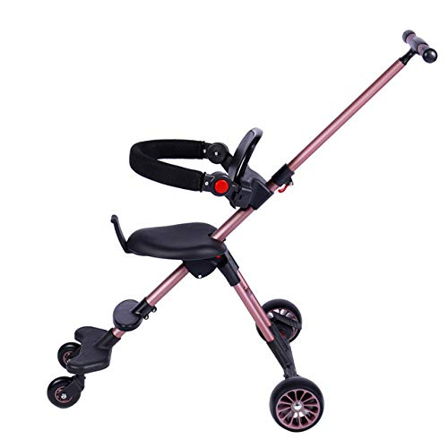 Best Review Of LITIAN Children's Baby Stroller Ultra-Light Folding High-View Four-Wheeled Cart Champ...