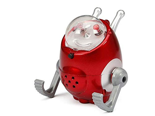 Giggle Bots - Wacky Wobbler - Red Version - Lights and Sounds Robot Toy