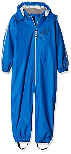 Racoon Baby-Jungen Villum Regenanzug (Wassersäule 5.000) Regenjacke, Blau (Princess Blue Pri), 98
