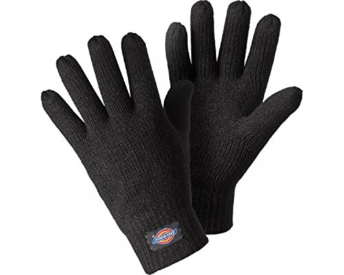 Dickies Strickhandschuhe schwarz, Thinsulate gefüttert, bequem, 100%Acryl