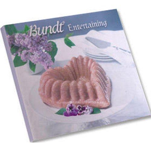Nordic Ware Bundt-Entertaining Hard Cover Kochbuch mit mehr als 100Rezepte
