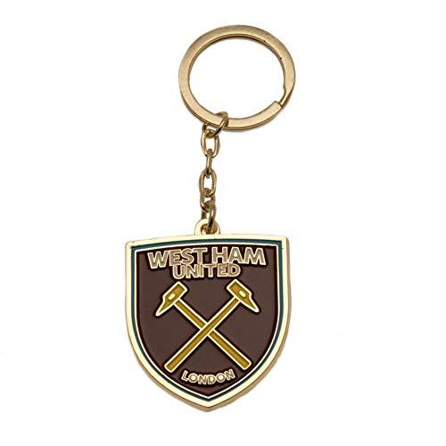 West Ham United FC Keyring (One Size) (Brown)