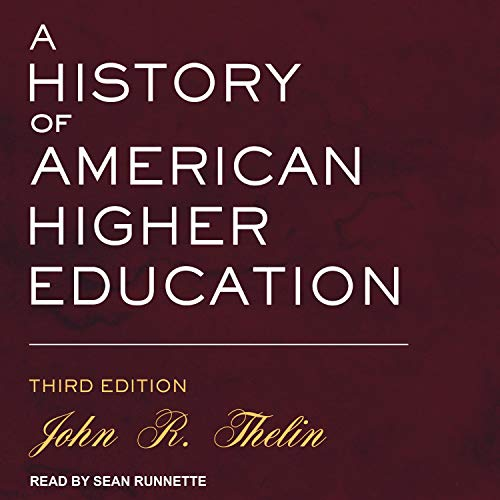 A History of American Higher Education cover art