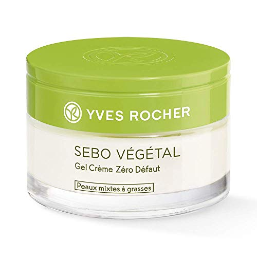 Yves Rocher Sebo Végétal Gel crema zero difetti con polvere di Tè boreale per pelli miste a...