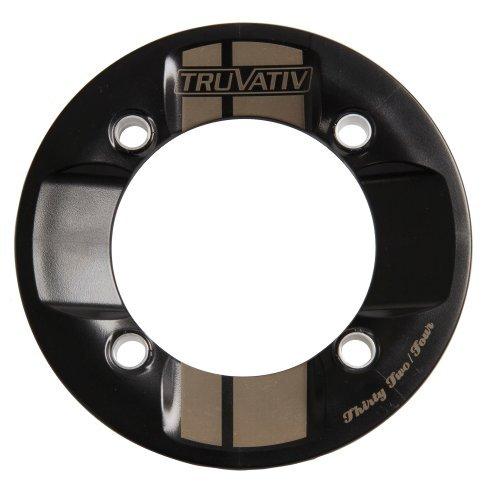 Truvativ Rockguard Chain Guard 36T 104 Bolt Centre Diameter 10 mm Polycarbonate - White/Black by Truvativ