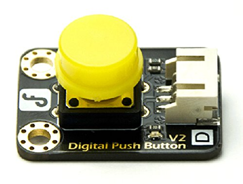 Digital Push Button (Yellow)/Easy To 'Plug And Play'/Large Button Keypad And High-Quality First-Class Hat/Able To Achieve Very Interesting And An Interactive Work
