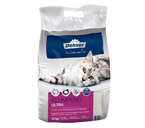 Dehner Premium Katzenstreu, Klumpend Ultra, 12 kg